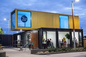 100 Shipping Containers Converted Inside Northern Irelands FirstEver Container Restaurant
