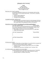 Change Career Resume S Profile Exampless