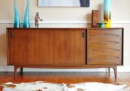Mid Century Modern Buffet And Sideboards Regarding Plans 7