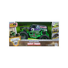 New Bright Remote Control 6.4V Grave Digger Truck, Multicolor ... Grave Digger Truck Wikiwand New Bright Rc Ff 128volt 18 Monster Jam Chrome Best Axial Smt10 4wd Truck Sale 16 Vw Transformed To Rcu Forums Toy Trucks Show Scale Playtime In Cars And Tanks At The Remote Control Racing Car For Rtr 110 Ax90055 Mayhem With Gravedigger No Limit World Finals Gizmo 143 Grave Digger Industrial Co Unboxing