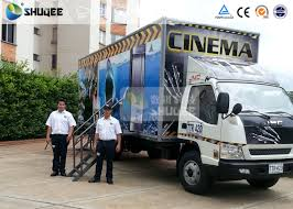 Mobile Truck Model 7D Movie Theater Of Luxury Leather Motion Chairs ...