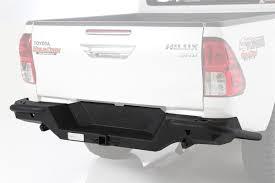 100 Toyota Truck Bumpers Smittybilt M1 Rear Bumper 20052013 Hilux Crew 614842