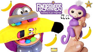 Learn Colors Counting W FINGERLINGS MONKEY Play Doh DENTIST GAME Surprise Toys