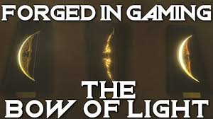 Forged In Gaming: The Bow Of Light - Breath Of The Wild - Not Only ...