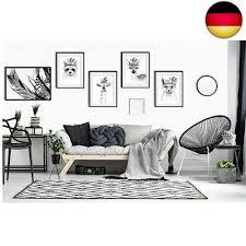 artpin 4er set poster kinderzimmer wohnzimmer schwarz weiß