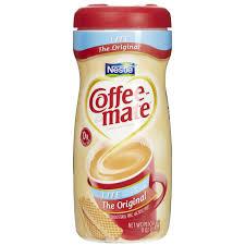 Coffee Mate Original Lite Non Dairy Creamer Powder