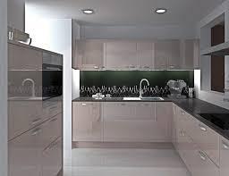 nolte küche u form grau