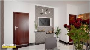 Modern Homes Dining Room Table Design In Kerala