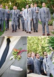 Grey And Navy Groomsmen Weddingchicks