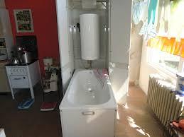 bild wer kein bad hatte hier die lösung in der küche zu