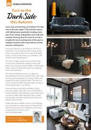 100 Interiors Online Magazine FABCO Are Encouraging Us To Turn To The Dark Side This Autumn With