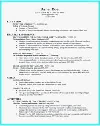 College Student Resume Examples Professional Boston Template Awesome For Customer