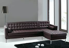 Dark Brown Couch Living Room Ideas by Light Colored Leather Sofa Modern Dark Brown Sectional L Shaped