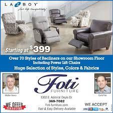 100 Foti Furniture Saturday August 15 2020 Ad The Daily Iberian
