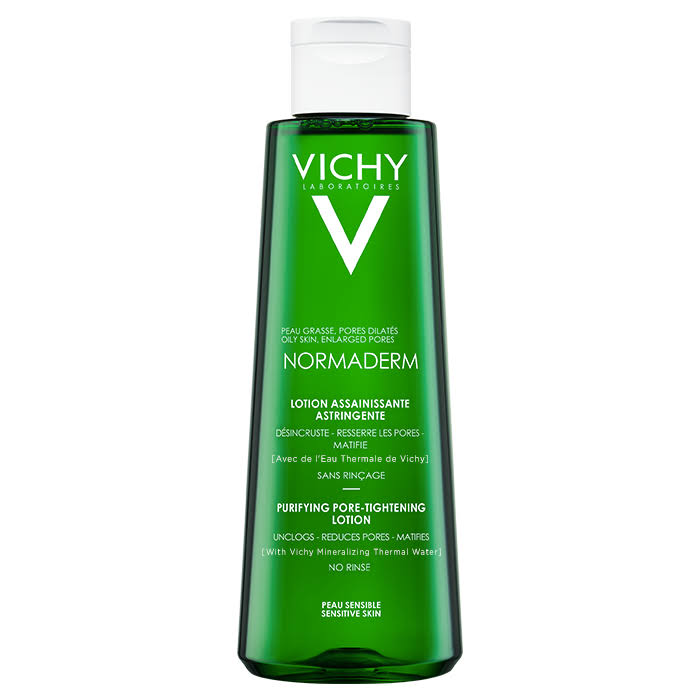 Vichy Normaderm Purifying Pore-Lightening Lotion - Sensitive Skin, 200ml