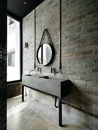 Industrial Bathroom Decor Designs With Vintage Charm Wall