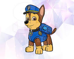 Chase Paw Patrol Clipart Alleghany Trees