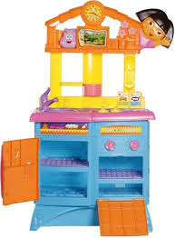 Dora The Explorer Fiesta Kitchen Set by Dora Kitchen Toys Kitchen Design Ideas