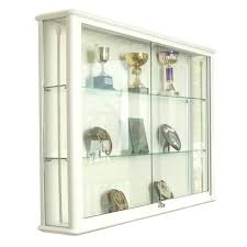 Wall Display Cases Glass Large Wooden For Collectibles