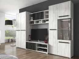 wohnwand viva tv lowboard kommode anbauwand vitrine wohnzimmer modern design