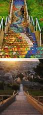16th Avenue Tiled Steps In San Francisco by 20 Incredible Before U0026 After Street Art Transformations That U0027ll