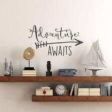 Online Shop Travel Theme Adventure Awaits Vinyl Wall Decal Home
