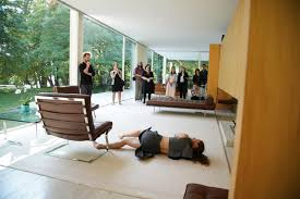 100 House Van Gallery Of Choreographed Performance At Farnsworth