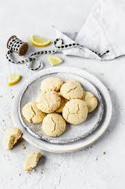 low carb zitronen frischkäse kekse