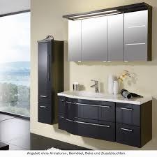 puris 4life swing badmöbel als set mit led beleuchtung und spiegelschrank 120 cm