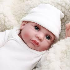 Handmade Lifelike Reborn Baby Doll Silicone Vinyl Newborn Full Body
