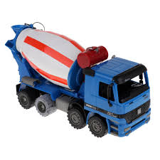 100 Cement Mixer Toy Truck Mixing Engineering Vehicle Model Kids Collection