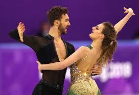 Team France Ice Dancing Wardrobe Malfunction