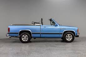 100 Convertible Pickup Truck 1990 Dodge Dakota SE For Sale 109845 MCG