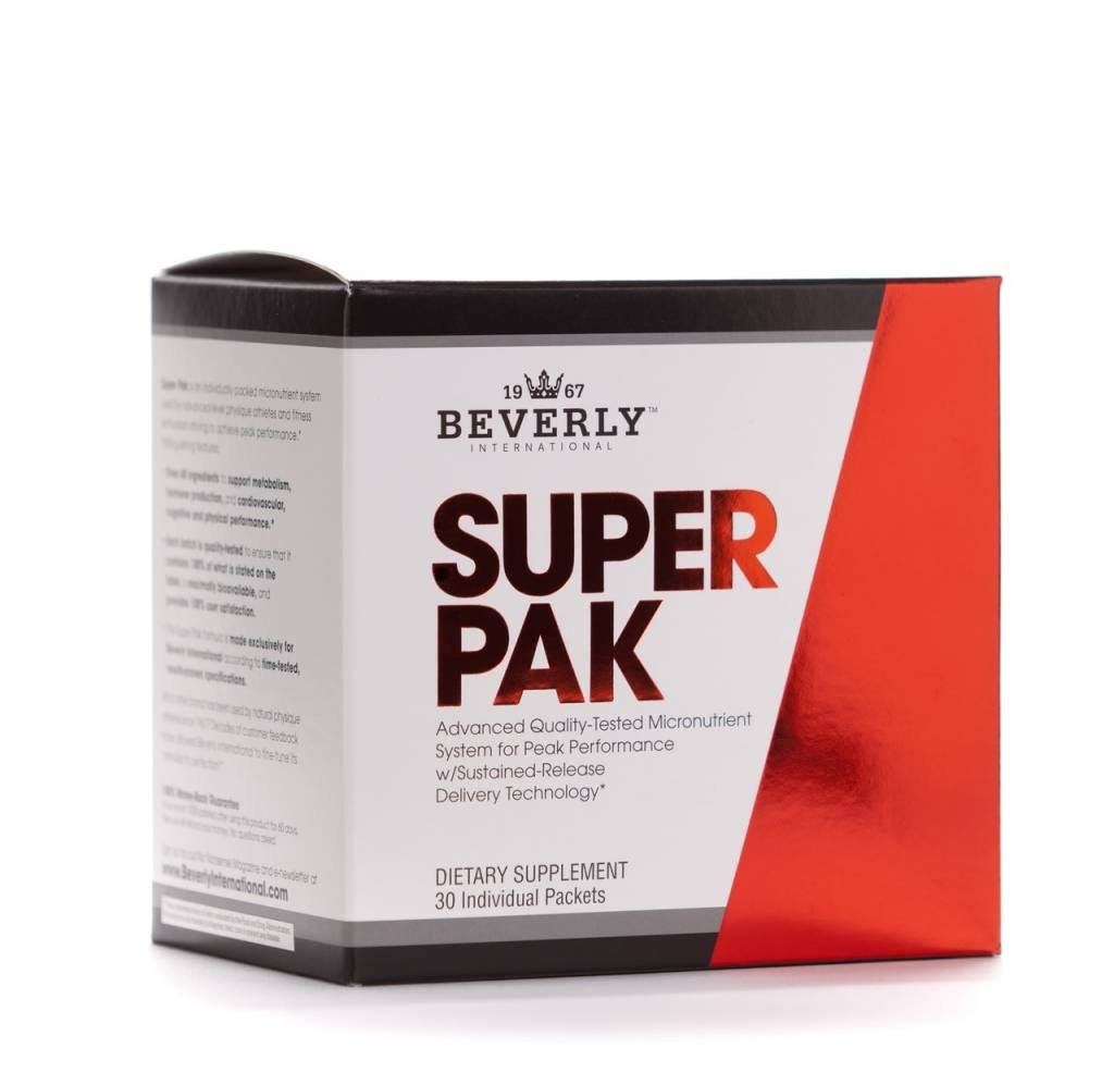 Beverly International Super Pak Dietary Supplement - 30 Day Supply