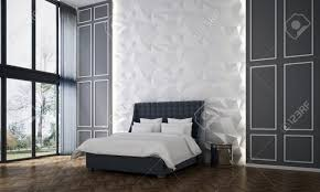 100 Modern Luxury Design Interiors Of Bedroom And Wall Pattern