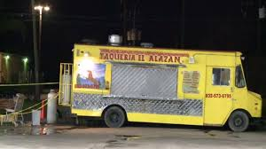 100 Houston Food Trucks Truck Employee Shot To Death For Refusing To Hand Over