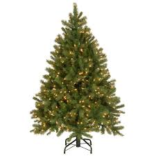 National Tree Company 45 Ft Downswept Douglas Fir Artificial Christmas With Clear Lights