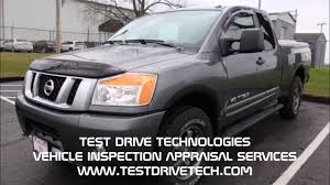 100 Truck Appraisal 2015 Nissan Titan Used Pre Purchase Inspection Video In