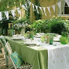 Summer Party Table Decoration Ideas
