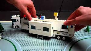 100 Lego Police Truck City Police Truck Custom Mobile Police Unit LZH YouTube