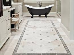 Retro Kitchen Floor Tile Patterns Vintage Bathroom Decor Ideas With Simple Pattern