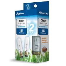 aqueon clear incandescent bulb 15 watts petco