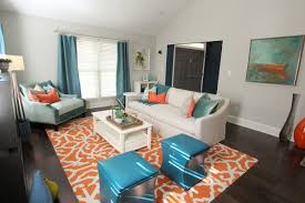 Teal Living Room Set by Elegant Amazing Idea Teal And Orange Living Room All Dining On