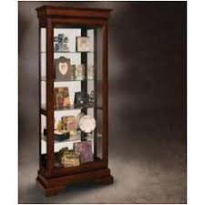 202 philip reinisch company fruitwood classic curio cabinet