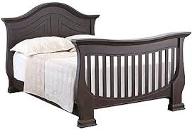 Halo Bed Rail by Eco Chic Baby Dorchester Full Size Bed Conversion Rail Kit Slate