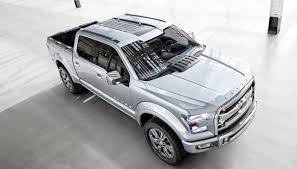 DETROIT AUTO SHOW: Ford Answers New GM Trucks With Atlas Concept ...