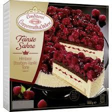 conditorei coppenrath wiese feinste sahne himbeer bourbon vanille torte 1800g