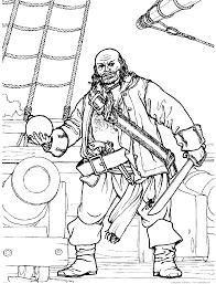 Coloriage Bateau Et Trésor De Pirate à Imprimer Et Colorier