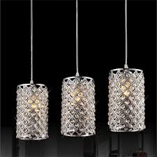 Laser Cut Lamp Shade by Furniture Forme Modern Laser Cut Drum Shade Oval Crystal Pendant