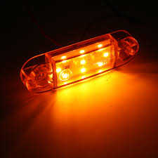 100 Truck Marker Lights 124610X 9LED Dash Ide Lamp 12V 24V Trailer Caravan Lorry Van